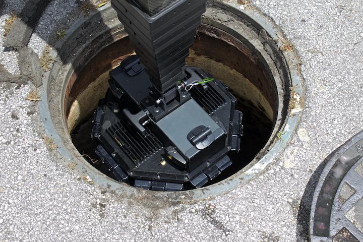 Opsporen van rioolbreuk via een inspectiecamera