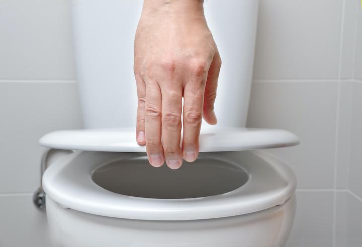 Verstopt toilet